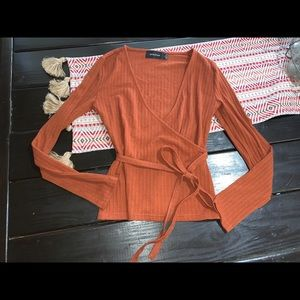 Mink pink blouse small